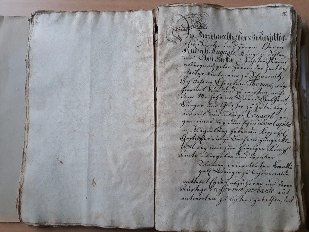 Intercessionale von Maria Döring, verehelichte Bernd,folio 49