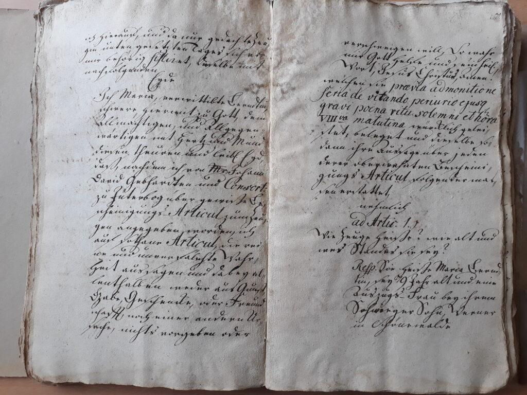 folio 49 und 50 , Maria Döring, verehelichte Berndt